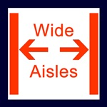 Wide Aisles Icon